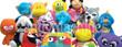 Jumbo Plush Stuffed Toy Mix 75 ct