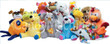 Jumbo Premium Plush Stuffed Toy Mix