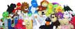 Jumbo Plush Stuffed Toy Mix - 20percent Licensed