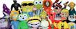 Jumbo Plush Stuffed Toy Mix - 100percent Licensed