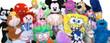 Jumbo Plush Stuffed Toy Mix - 100percent Licensed 2
