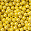 Shimmer Yellow Sixlets Candy Coated Chocolate Balls