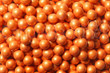 Shimmer Orange Sixlets Candy Coated Chocolate Balls by the Pound