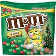 MandMs Holiday Red and Green Peanut Candies - Bag