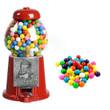 Junior Carousel Gumball Machine Gift Set includes gumballs