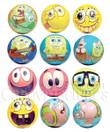 SpongeBob SquarePants Foam Balls Bulk Vending Toys