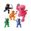 Ninja Fighters Figurines Bulk Vending Toys