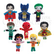 DC Comics String Dolls Vending Capsules