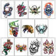 Skull and Bones Vending Tattoos