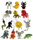 Animal String Dolls Vending Capsules