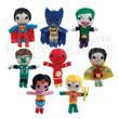 DC Comics String Dolls Bulk Vending Toys