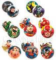 DC Comics Foam Balls Bulk Vending Toys