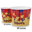 Movie Theater Popcorn Buckets, 85 Oz - 25 ct