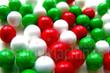 Red White Green Mix Mini Jawbreakers