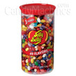 Jelly Belly 49 Assorted Flavor Jelly Beans - 3 lb Clear Can