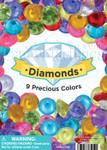 Plastic Diamonds Vending Capsules