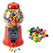 King Carousel Gumball Machine Gift Set