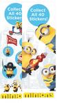 Minion Movie Vending Stickers