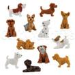 Adopt A Puppy Figurines Bulk Vending Toys