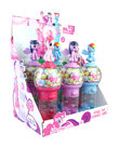 My Little Pony 7.5 Inch Spiral Gumball Bank with Gumballs
