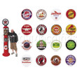 Gas Pump Gumball Machines - 7 6