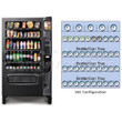 Refrigerated Snack and Soda Vending Machine 45 Selections