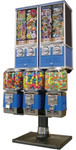 Beaver 5 Unit Toy and Gumball Vending Machine Combo