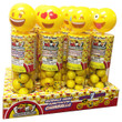 Emoji Bobble Heads with Gumballs - 12 ct