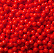Decorator Candy Beads - Red