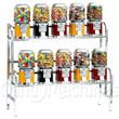 45 Chrome Bulk Vending Machine Rack