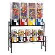 9 Unit Toy and Candy Vending Machine Combo