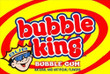 Bubble King Gumballs Vending Machine Label