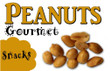 Peanuts Vending Machine Label