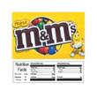 Peanut MandMs Vending Machine Label