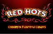 Red Hots Vending Machine Label