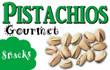 Pistachios Vending Machine Label