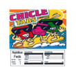 Chicle Tabs Vending Machine Label