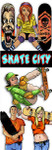 Skate City Vending Stickers