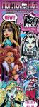 Monster High Vending Tattoos