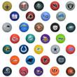 NFL Knobby Balls - 5 inch