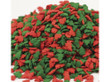 Red and Green Tree Shape Bulk Sprinkles 5 lbs