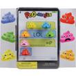 Poop Emoji Erasers Vending Capsules