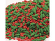Holly Leaves and Berries Mix Bulk Sprinkles 5 lbs