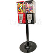 Eagle Two Head Metal Bulk Vending Machine with Stand
