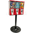 Eagle Three Head Metal Bulk Vending Machine with Stand