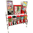 Eagle 10 Way Sticker and Tattoo Toy Bulk Vending Rack