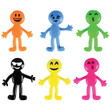 Stretch Emojis Bulk Vending Toys