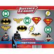DC Comics Logo Tattoos Toy Vending Capsules