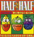 Half and Half Fruits Gumballs