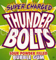 Thunderbolts Sour Candy Center Gumballs